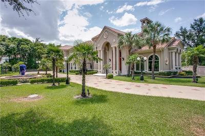Dallas Single Family Home For Sale: 5920 Gladeside Court
