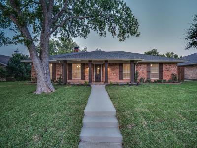 Plano TX Single Family Home Active Option Contract: $345,000