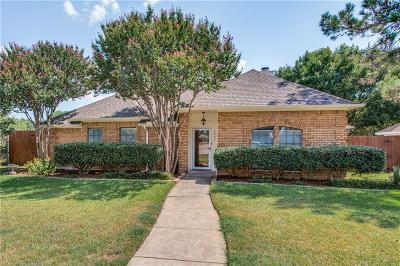 Plano TX Single Family Home Active Option Contract: $225,000
