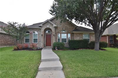 The Colony Single Family Home Active Option Contract: 6205 Apache Drive