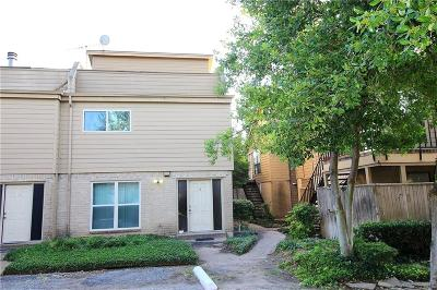 Dallas Townhouse For Sale: 7031 Holly Hill Drive #11