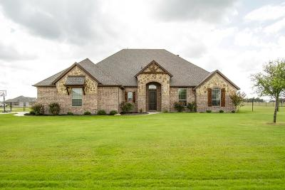 Waxahachie TX Single Family Home Active Option Contract: $299,900