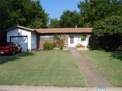 Haltom City Single Family Home Active Option Contract: 3132 Jane Lane