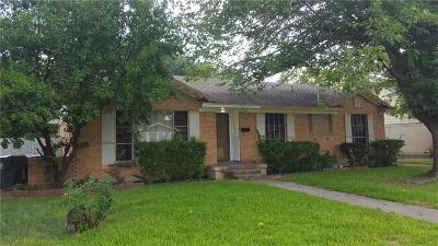 Dallas Single Family Home For Sale: 2726 Blanton Street