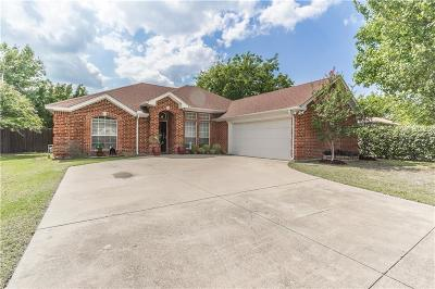 Benbrook Single Family Home Active Option Contract: 212 Bandera Street