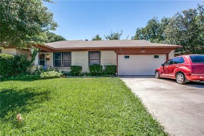 Garland Single Family Home Active Option Contract: 1917 Oldgate Lane