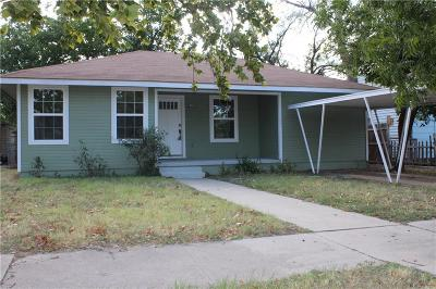 Single Family Home Active Option Contract: 1550 Woodard Street