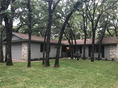Arlington Single Family Home Active Option Contract: 3708 Hastings Drive