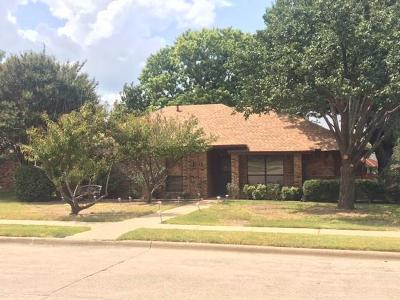 Plano Single Family Home Active Option Contract: 1511 La Paz Drive