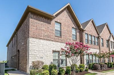 Carrollton Townhouse For Sale: 4185 Comanche Drive