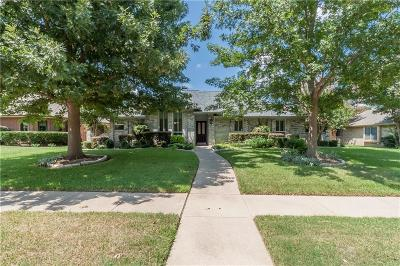 Coppell Single Family Home Active Option Contract: 710 Meadowglen Circle