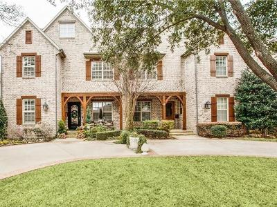 University Park Single Family Home For Sale: 3815 Northwest Parkway