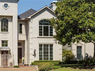 Dallas Townhouse For Sale: 7407 Inwood Road