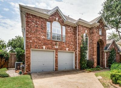 Addison Single Family Home Active Option Contract: 14589 Camelot Court