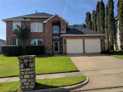 Bedford, Euless, Hurst Single Family Home Active Option Contract: 3812 Misty Glen Court