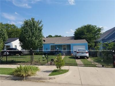 Fort Worth Single Family Home For Sale: 2624 Carter Avenue