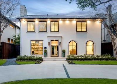 Highland Park, University Park Single Family Home For Sale: 4208 Potomac Avenue