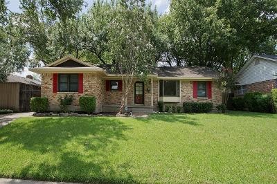 Garland Single Family Home Active Option Contract: 1018 Bardfield Avenue