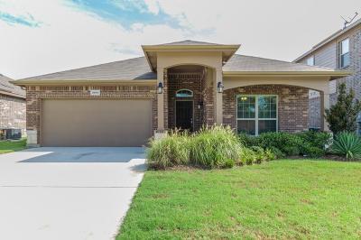 Denton Single Family Home For Sale: 3016 Tamarack Lane