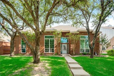Frisco Single Family Home Active Option Contract: 10908 Amelina Lane