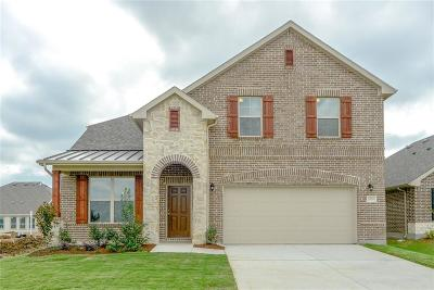 Aubrey Single Family Home For Sale: 1828 Meadow Trail Lane