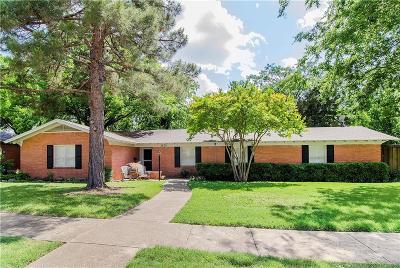Dallas Single Family Home For Sale: 6639 Ridgemont Drive