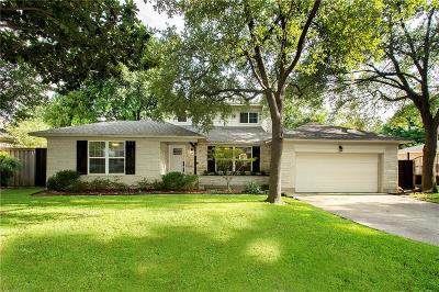 Dallas Single Family Home For Sale: 4180 Lively Lane