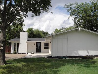 Dallas Single Family Home For Sale: 3245 Saint Croix Drive