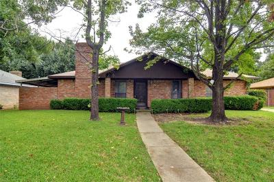 Denton Single Family Home For Sale: 2728 Mill Pond Road