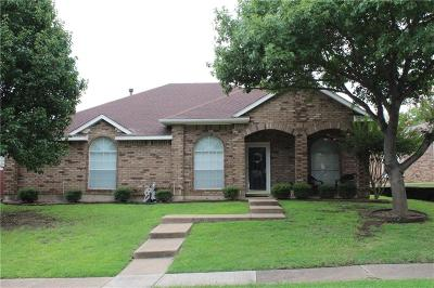 Carrollton Single Family Home For Sale: 3803 Silver Maple Drive