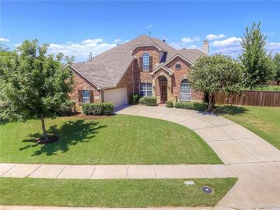 Frisco Single Family Home Active Kick Out: 1592 Kingfisher Lane