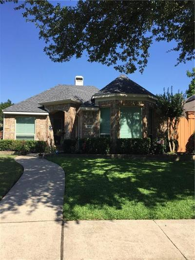 Plano Single Family Home Active Option Contract: 6832 Thorncliff Trail