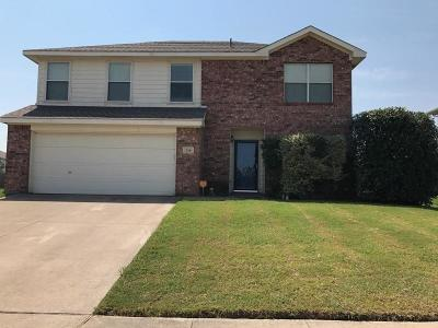 Waxahachie Single Family Home Active Option Contract: 210 Christie Lane