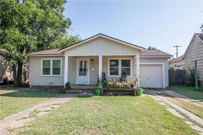 Abilene Single Family Home For Sale: 3241 S 5th Street