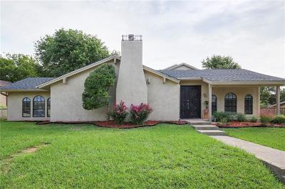 Garland Single Family Home For Sale: 2834 Club Meadow Drive