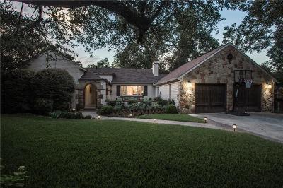 Dallas Single Family Home Active Option Contract: 9711 Redondo Drive