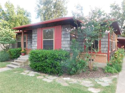 Fort Worth Single Family Home For Sale: 4529 Geddes Avenue