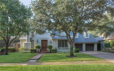 Fort Worth Single Family Home For Sale: 3813 Hamilton Avenue