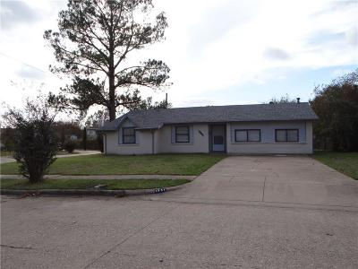 Mesquite Single Family Home For Sale: 1341 Greenway Drive