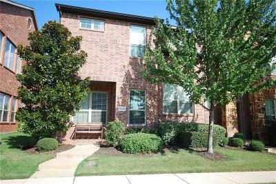Irving Townhouse For Sale: 8640 Iron Horse Drive