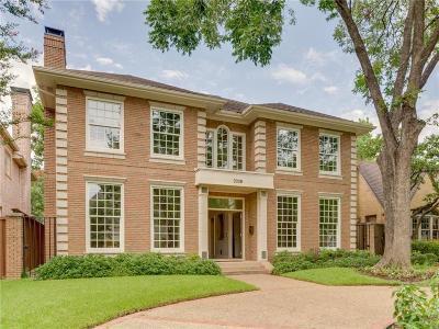 University Park Single Family Home For Sale: 3328 Purdue Avenue