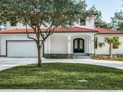 Dallas Single Family Home For Sale: 3942 Highgrove Drive
