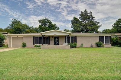 North Richland Hills Single Family Home Active Option Contract: 4322 Mackey Drive