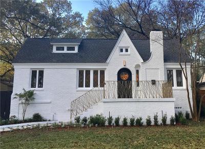 Dallas Single Family Home For Sale: 7022 Wildgrove Avenue