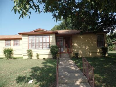 Fort Worth Single Family Home For Sale: 2909 Miller Avenue