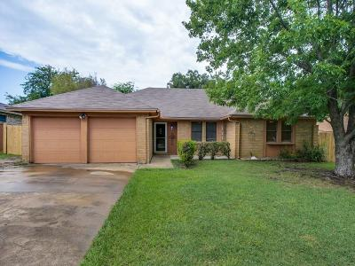Benbrook Single Family Home Active Option Contract: 112 Amory Drive