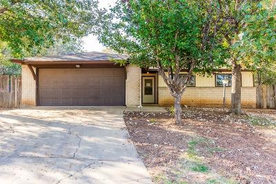 Denton Single Family Home For Sale: 1601 White Oak Court