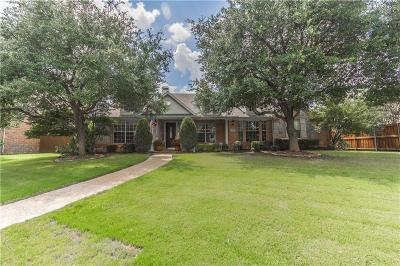 Frisco Single Family Home Active Option Contract: 2051 Spindletop Trail