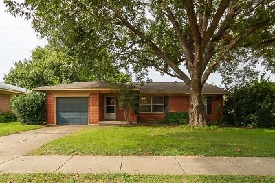 McKinney Single Family Home Active Option Contract: 828 Inwood Drive