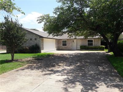 Plano Single Family Home Active Option Contract: 1332 Armstrong Drive